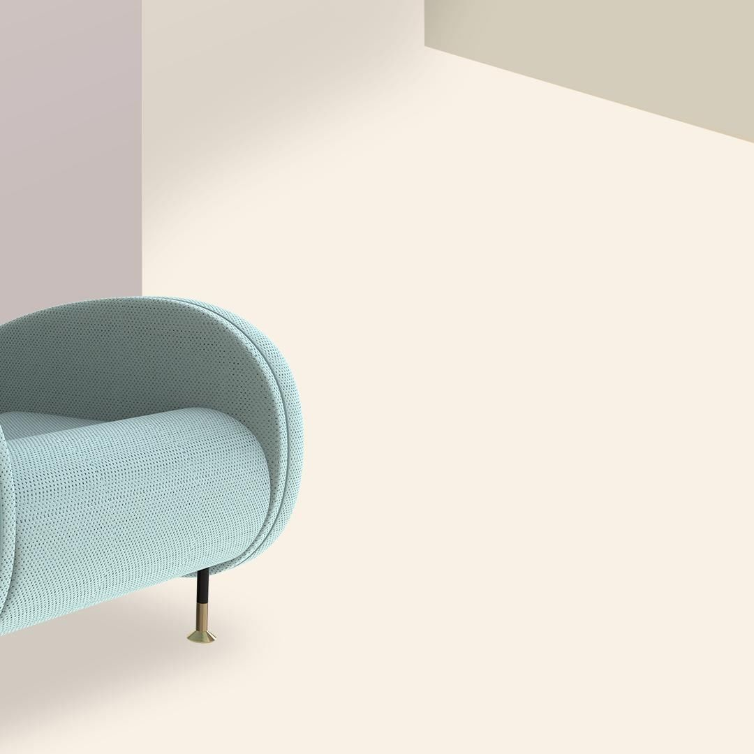 This armchair is simply a well-designed piece. What do you think about its shape...