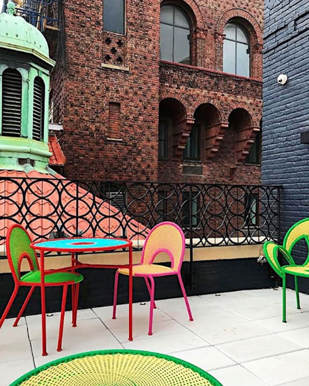 Colorful beauty on the balcony This New ...