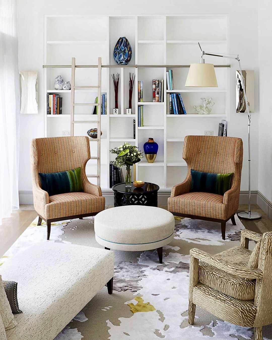 The Soft & Creamy Armchairs in a contemp...