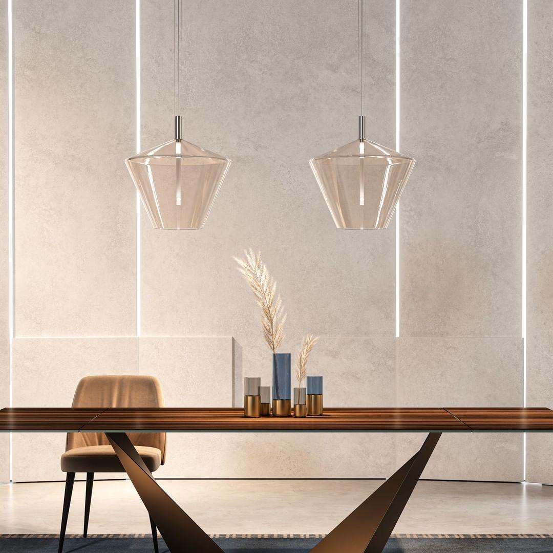 24 Gradi, suspension lamp fills every sp...