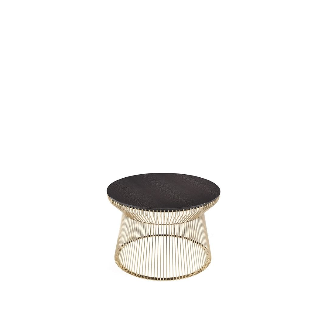 WIRE: a table with a contemporary-glam c...