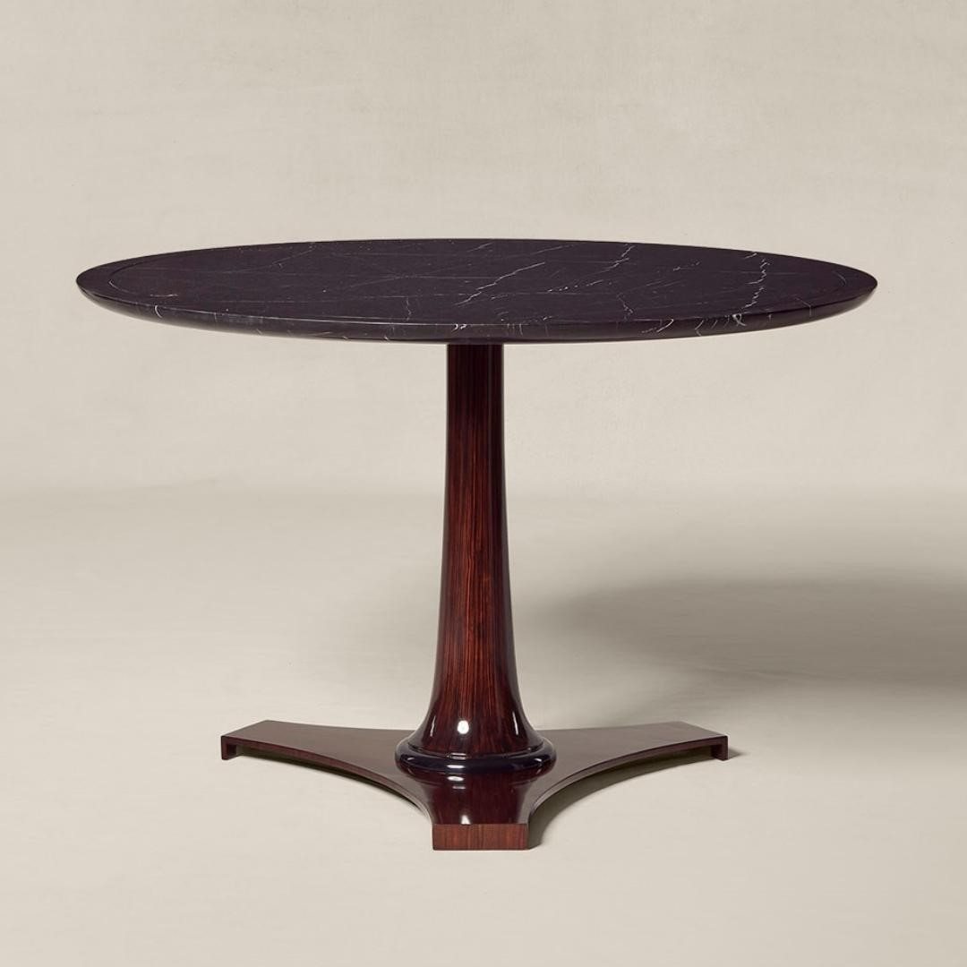 The Parker Table from @ralphlaurenhome i...