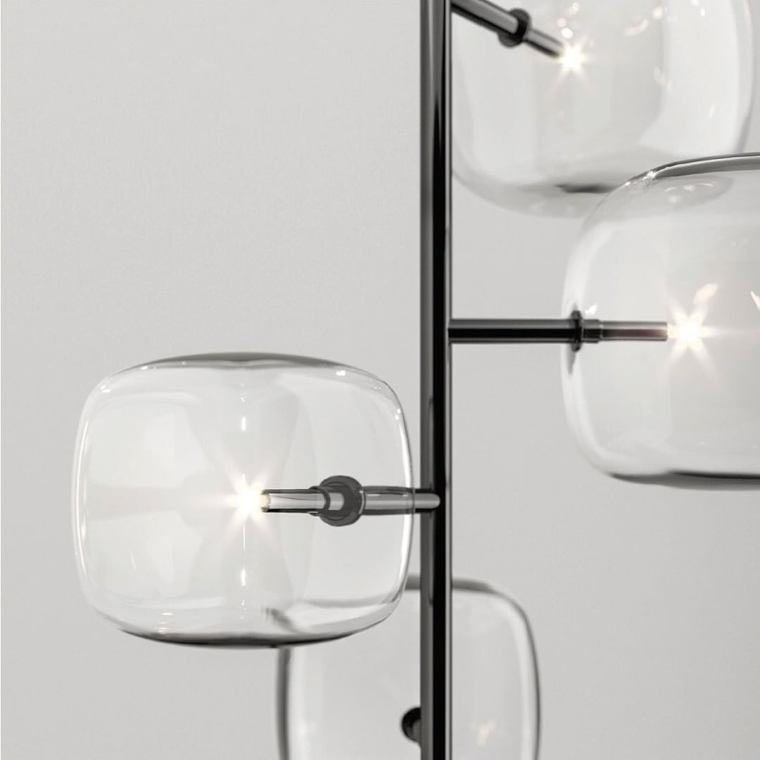Hyperion Lamp Design by MASSIMO CASTAGNA...