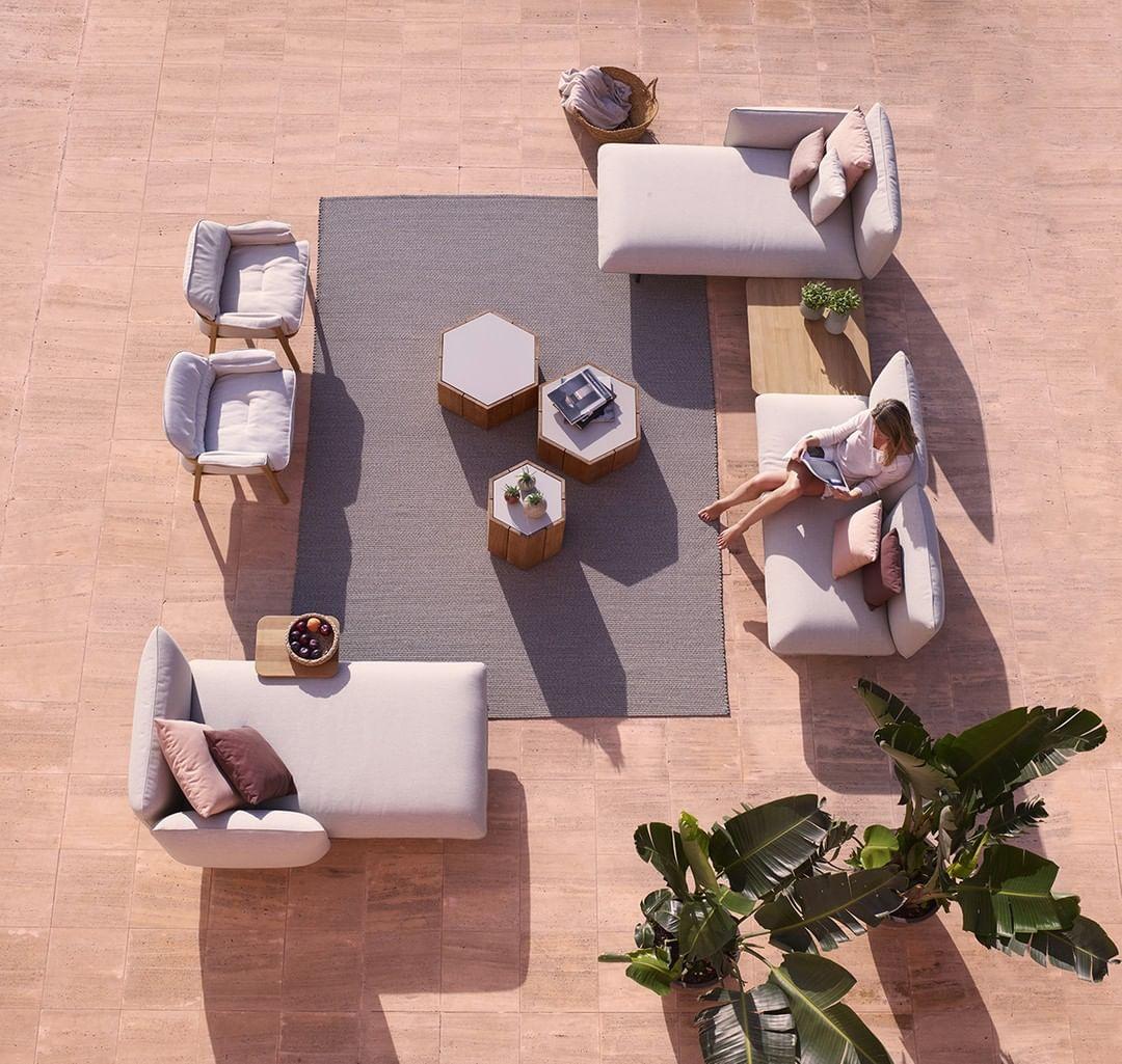 The Senja modular meridiennes and sofas ...