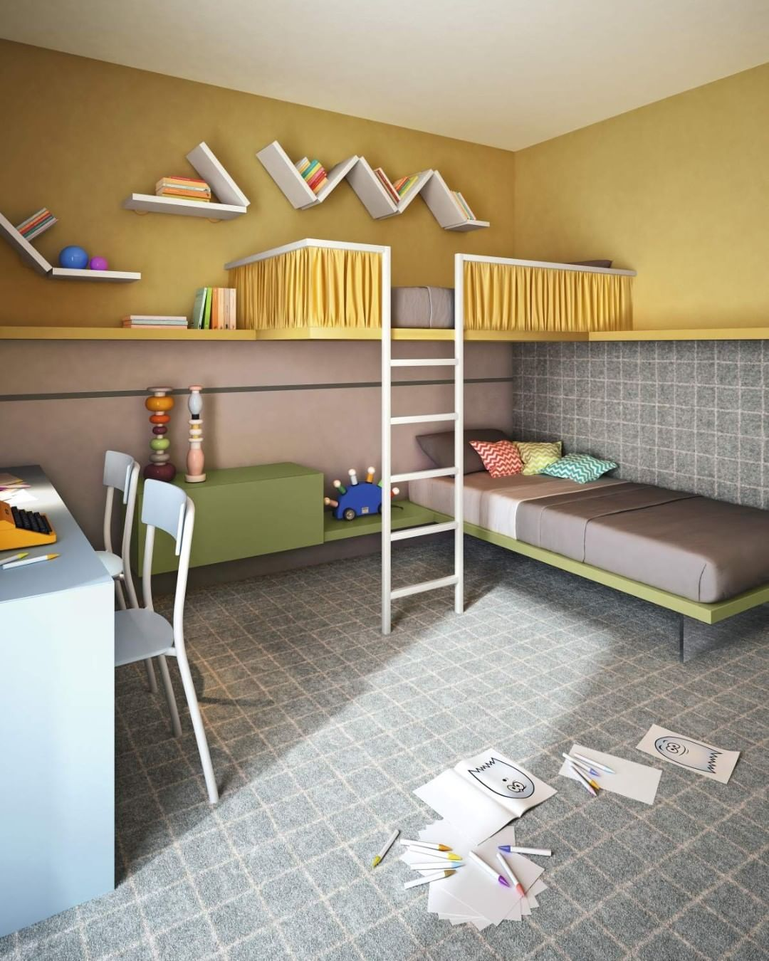 A children's room for dreaming, growing ...