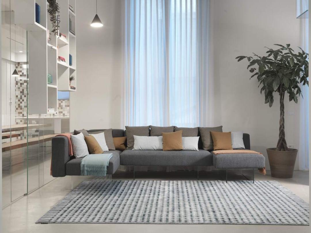 A modular sofa, with interchangeable sea...