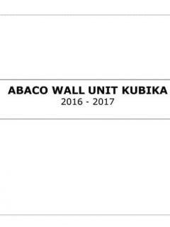 ABACO WALL UNIT 2016-2017