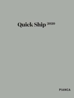QUICK SHIP 2020